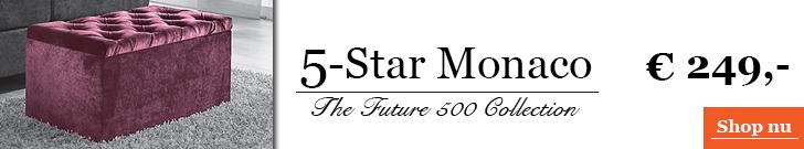 5-Star Monaco Luxe voetenbank