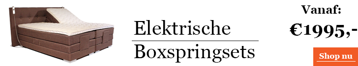 Categorie Elektrische Boxspring
