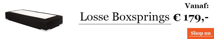 Categorie Losse Boxsprings