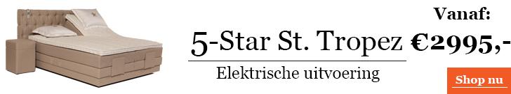Boxspringcombinatie 5-Star Saint Tropez Elektrische Uitvoering