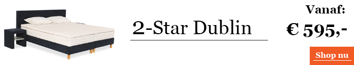 Boxspringcombinatie 2-Star Dublin