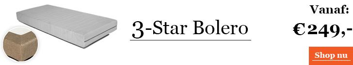3-Star Bolero matras