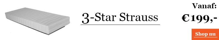3-Star Strauss matras