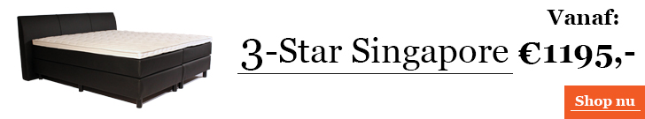 Boxspringcombinatie 3-Star Singapore