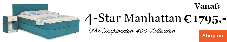 Boxspringcombinatie 4-Star Manhattan
