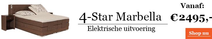 Boxspringcombinatie 4-Star Marbella Elektrische Uitvoering