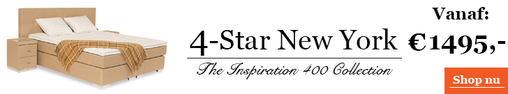 Boxspringcombinatie 4-Star New York