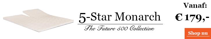 5-Star Monarch topdekmatras