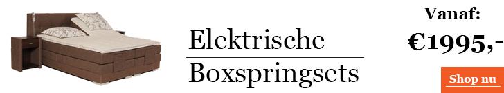 Categorie Elektrische Boxspring
